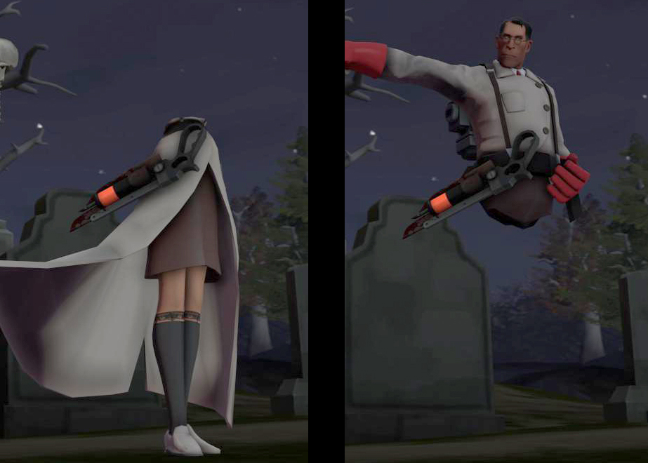 TF2 – Hammer Time Model Combining – Of Secrets