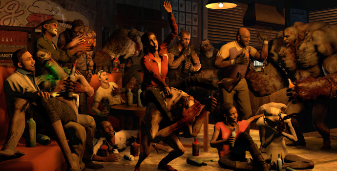 L4D L4D2 - Left 4 Drunks - Of Secrets - Maciej Małocha