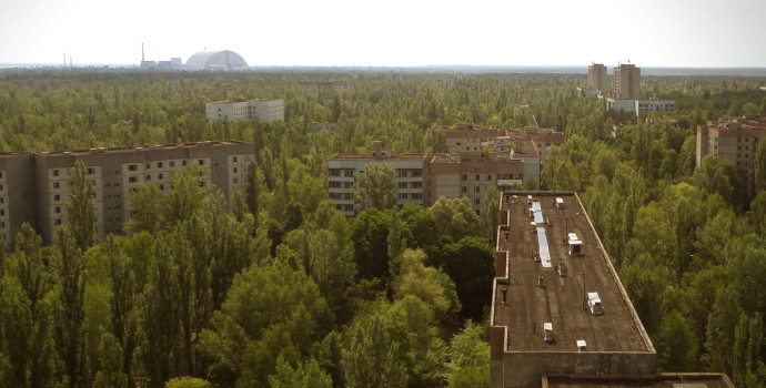 Pripyat - View from voskhod