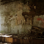 Pripyat - Hospital auditorium