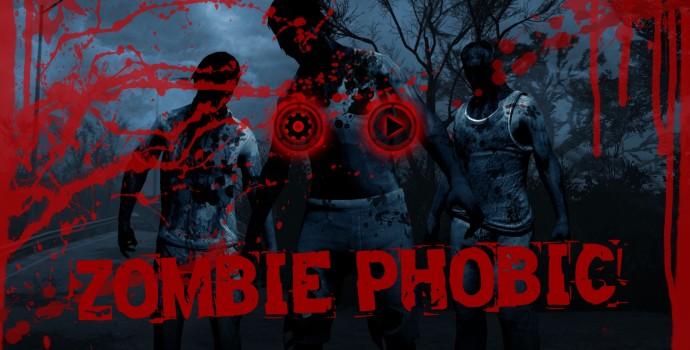 Zombie Phobic Artwork - Main Screen - Of Secrets - Maciej Małocha