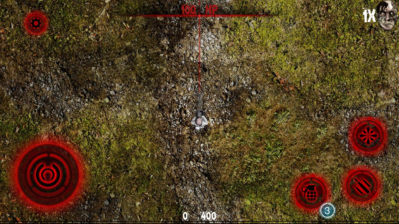 Zombie Phobic - Grass Field – Of Secrets