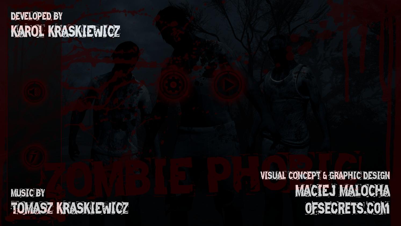 Zombie Phobic - Credits – Of Secrets