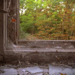 Pripyat - Hospital window