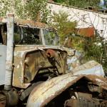 Pripyat - Near fire department