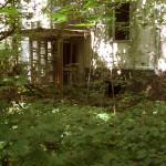 Pripyat - Building entrance